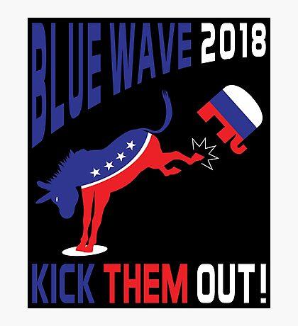 Blue Wave 2018 Kick Them Out Photographic Print