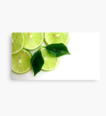Lime Fresh Canvas Print