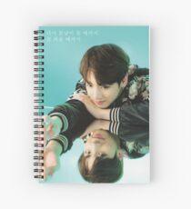 Jungkook BTS Spring Day Lyrics Spiral Notebook