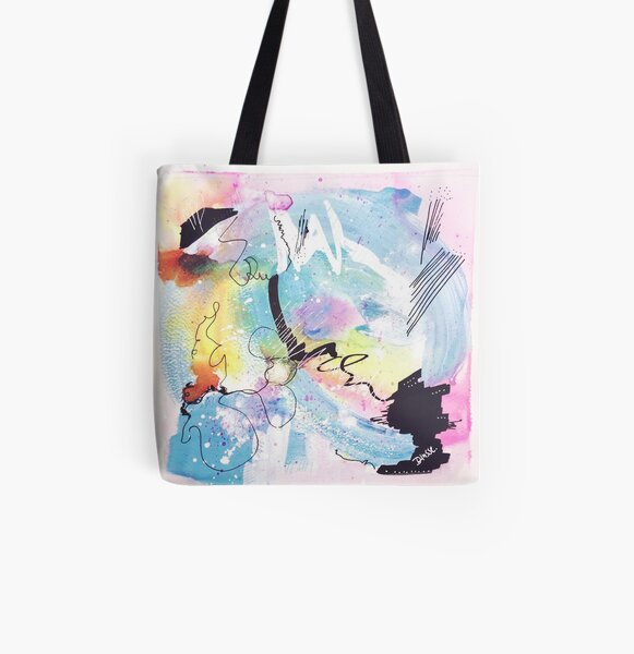 Color Twisted #9 Allover-Print Tote Bag