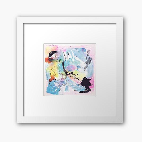 Color Twisted #9 Gerahmter Kunstdruck
