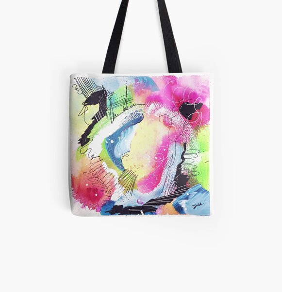 Color Twisted #10 Allover-Print Tote Bag