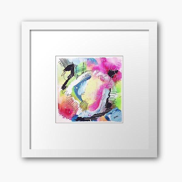 Color Twisted #10 Gerahmter Kunstdruck