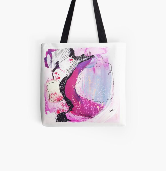 Color Twisted #13 Allover-Print Tote Bag