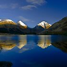 Glen Etive reflections by Terry Mooney