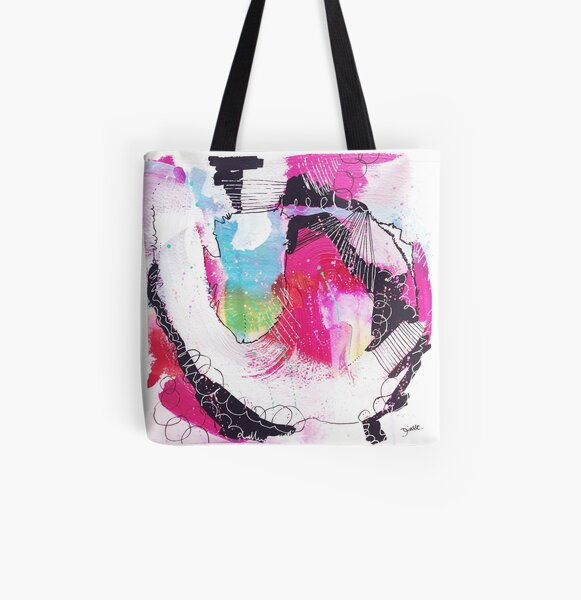 Color Twisted #19 Allover-Print Tote Bag