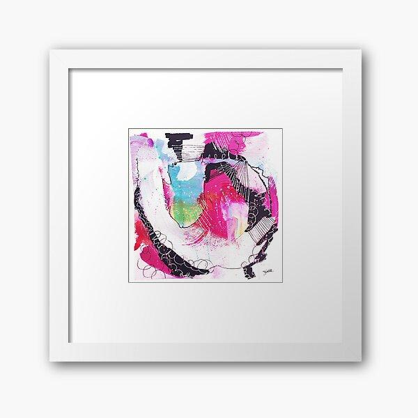 Color Twisted #19 Gerahmter Kunstdruck