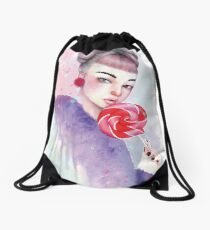 Lollipop Drawstring Bag