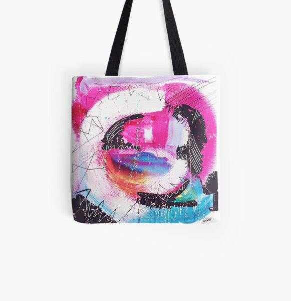 Color Twisted #21 Allover-Print Tote Bag