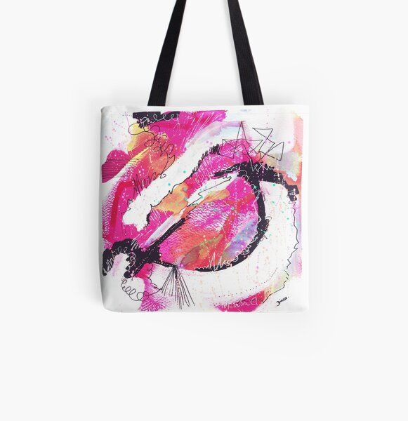 Color twisted #23 Allover-Print Tote Bag