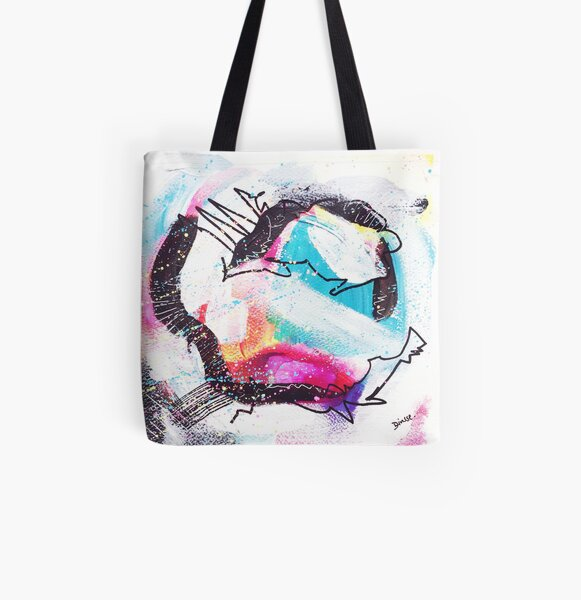Color Twisted #25 Allover-Print Tote Bag