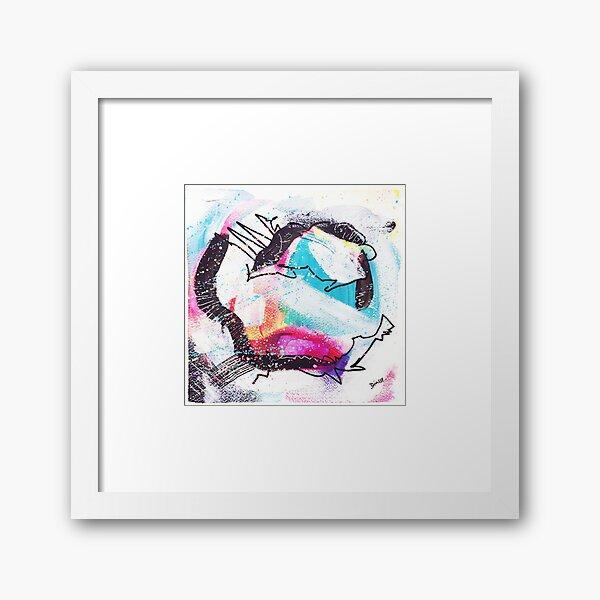 Color Twisted #25 Gerahmter Kunstdruck