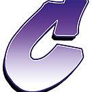 Letter C - Purple by paintcave