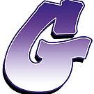 Letter G - Purple by paintcave