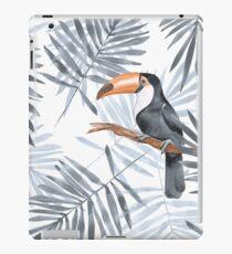 Palmblätter und Toucan iPad-Hülle & Klebefolie