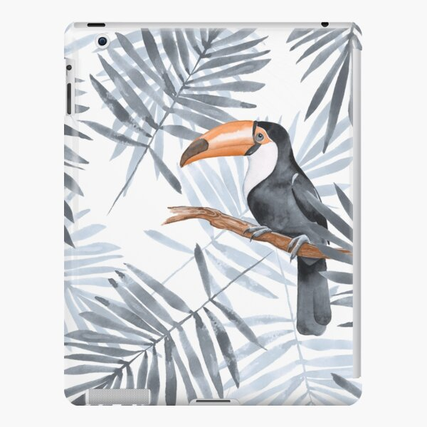 Palm leaves and Toucan iPad Snap Case