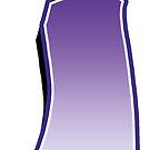 Letter i - Purple by paintcave