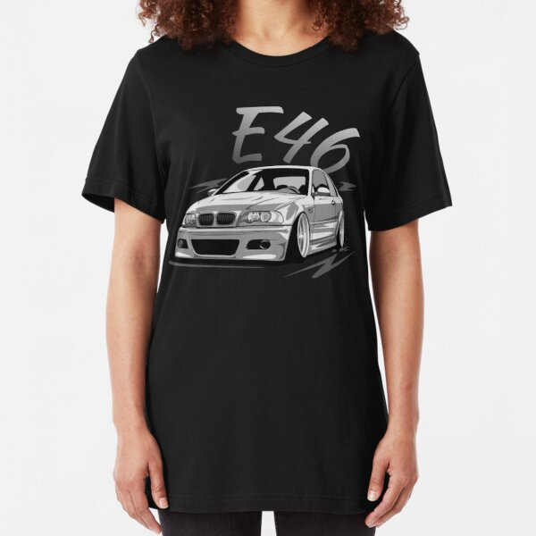 E46 tuning low Slim Fit T-Shirt