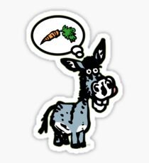 The Carrot by Cheerful Madness!! Sticker