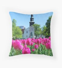 Halifax Spring fun Throw Pillow