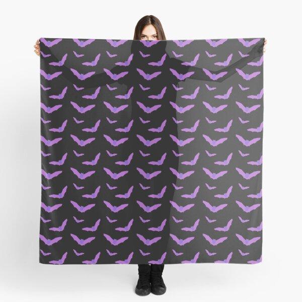 Purple bats Scarf