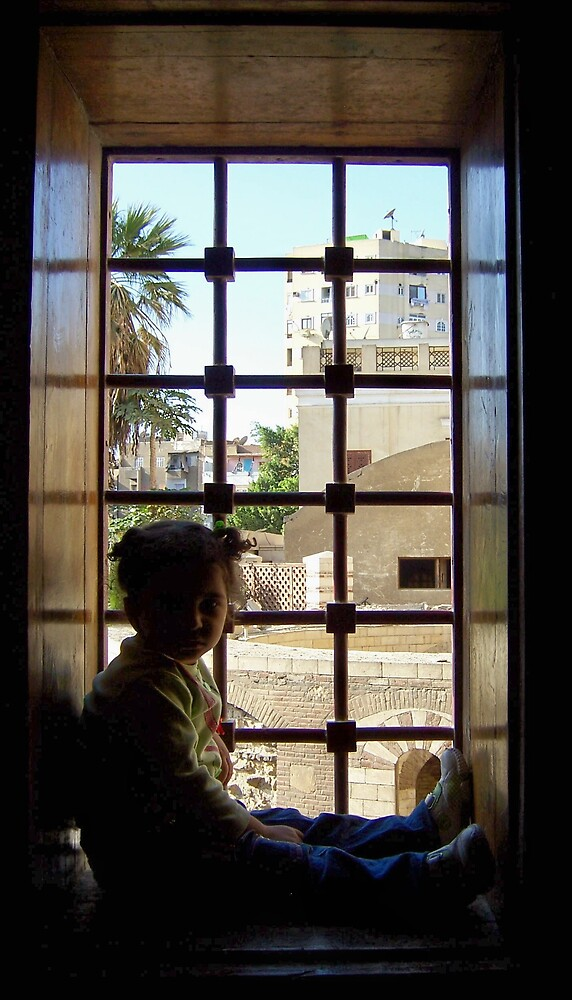 Girl in the Window by Christopher Warren