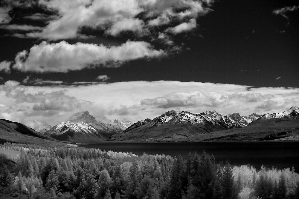 On the Way to Mt Cook by Ian Robertson