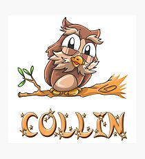 Collin Owl Photographic Print