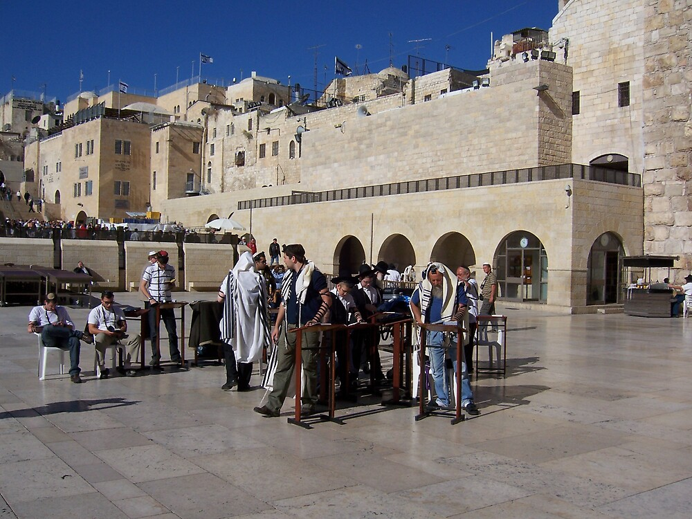 Torah at the Wall by Christopher Warren
