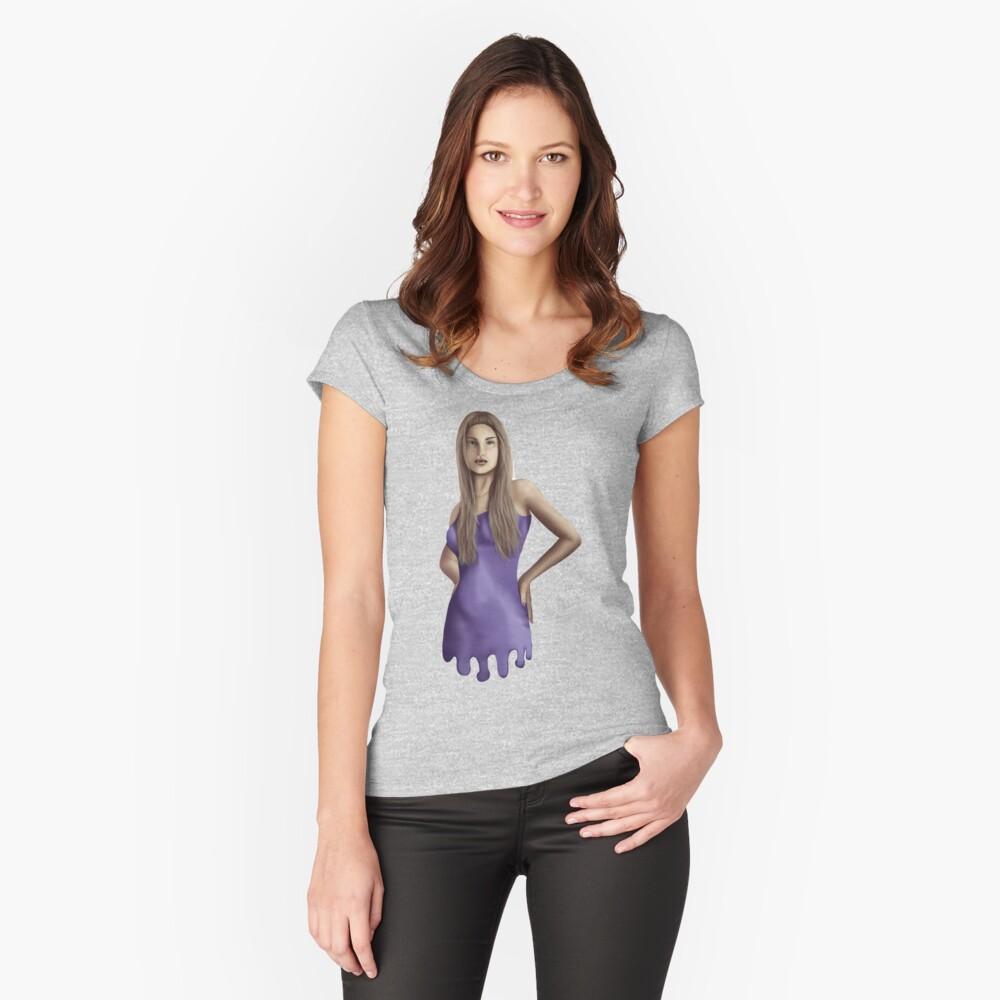 Luna Fitted Scoop T-Shirt