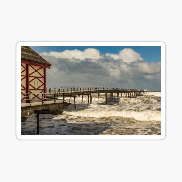 Saltburn Storm Sticker