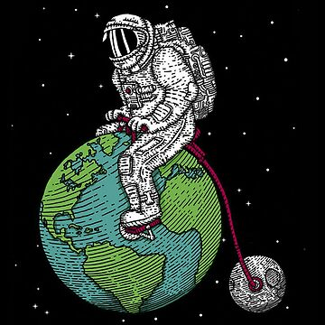 Astronaut Bicycle by Delta12Designs