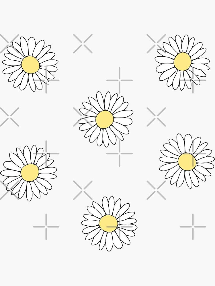 Cute Daisy Flower Pattern by liselotjaah