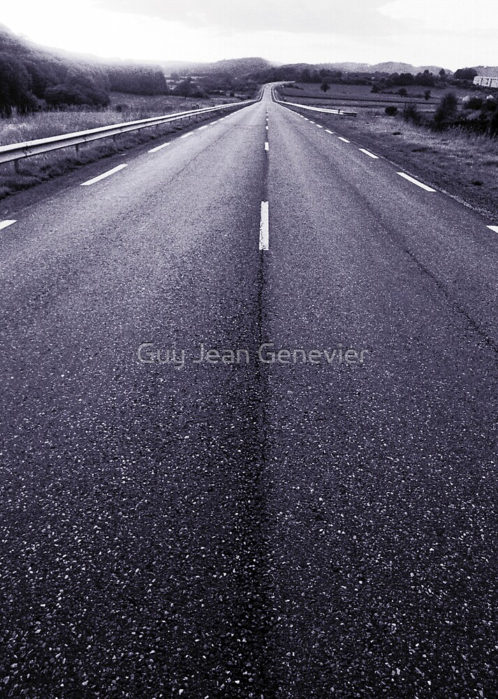 Lost highway by Guy Jean Genevier