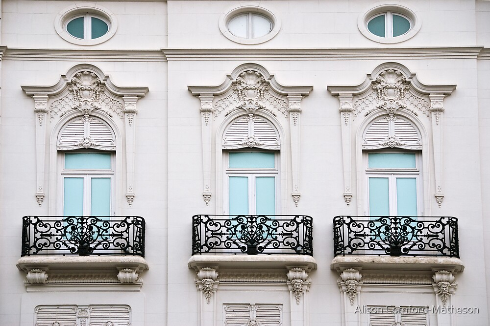 Valencia Windows 1 by Alison Cornford-Matheson