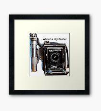 Graflex Lightsaber Framed Print