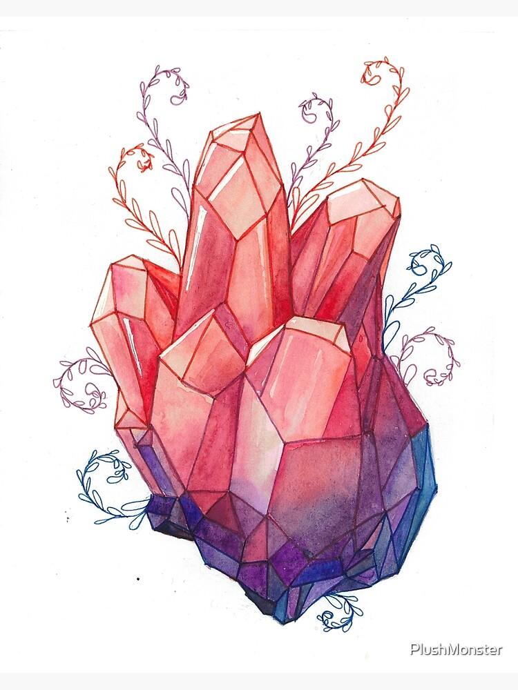 Crystal heart.