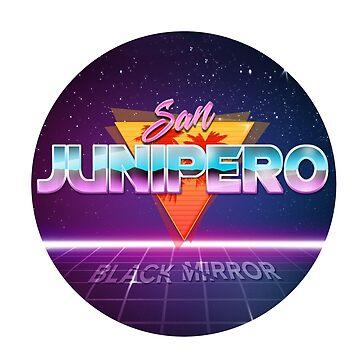 Black Mirror - San Junipero by noirph