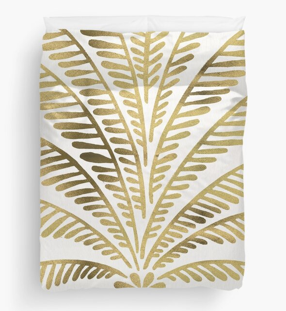 Palm Leaf – Gold Palette by Cat Coquillette