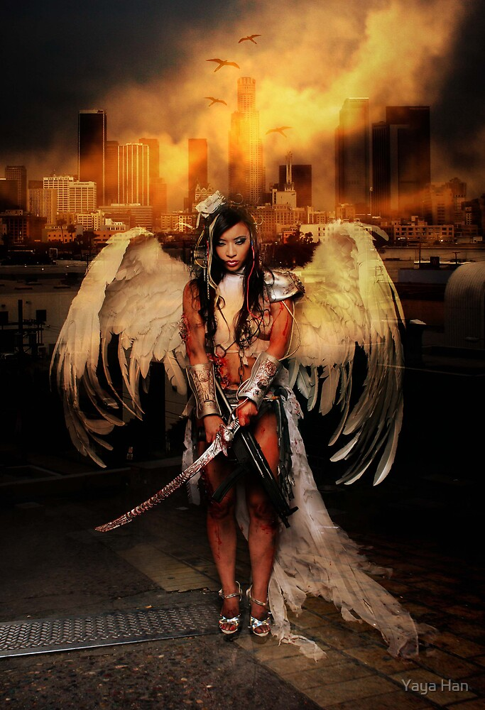 The Battle Angel by Yaya Han