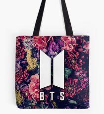BTS Blumen Logo Tasche