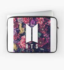BTS Flowers Logo Laptop Sleeve