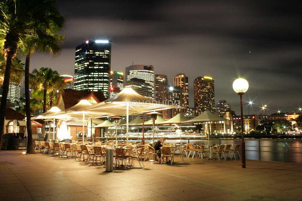 The Sydney night - 3 by houenying