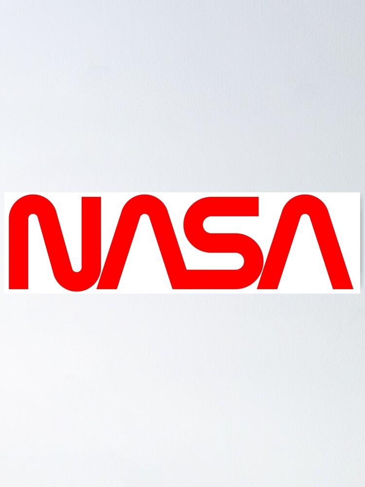 NASA Agency Logo A/éronautique Espace blanc Portefeuille