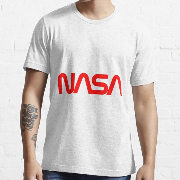 NASA Red Worm Logo Essential T-Shirt