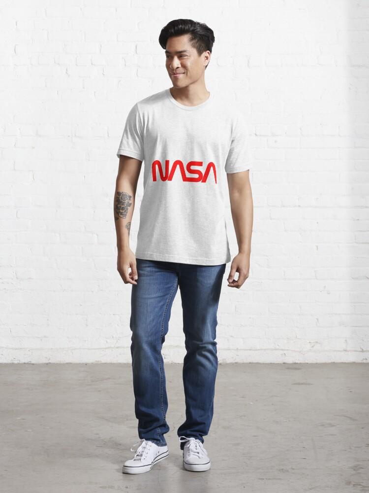 T-shirt essentiel ''Logo de la NASA Red Worm': autre vue