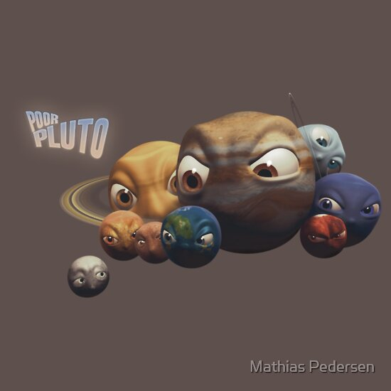 TShirtGifter presents: Poor Pluto T-shirt