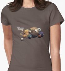 Poor Pluto T-shirt Women's Fitted T-Shirt