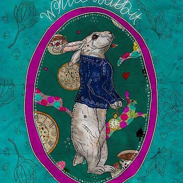 Follow the White Rabbit by f-rizzato-art
