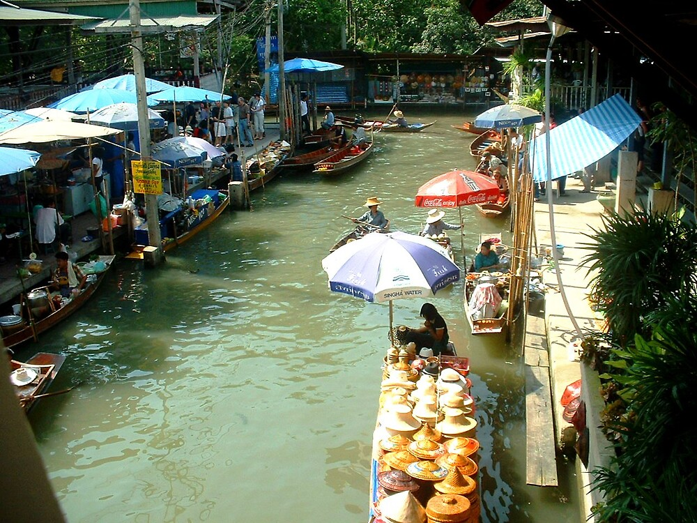 Floating Market by Braedene